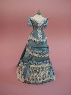 Good Sam Showcase of Miniatures: Class #6 - Afternoon Tea Gown with Valerie Casson of France