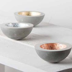 beton-creatif-tutoriel-e5 Beton Diy, Cement Crafts, Creation Deco, Starter Set, Idee Diy, Decorative Bowls, Diy Home Decor, Concrete, Diy And Crafts