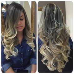 Hair Color Flamboyage Balayage Highlights 24 New Ideas Balayage Highlights, Hair Color Balayage, Cabelo Ombre Hair, Gorgeous Hair Color, Love Hair, Curled Hairstyles, Hair Hacks, New Hair, Hair Inspiration