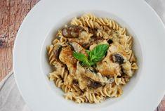 Mushroom Parmesan Chicken Recipe - 8 Points + - LaaLoosh
