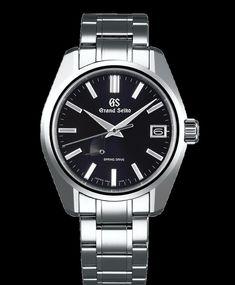 5ca97e0bd30a Seiko Grand Heritage SBGA375 black dial men s watch Discover more on  https   bit