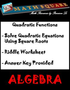 math worksheet : multiple representations of linear and quadratic parent function  : Multiple Representations Of Functions Worksheet