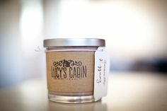 Amaretto Eggnog Soy Candle  10 oz. by LucysCabin on Etsy, $10.00