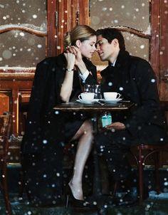 Romantic elegance... Tiffany for Christmas