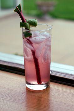 Rhubarb Highball
