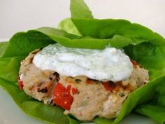 Clean & Delicious with Dani Spies » Greek Style Turkey Burgers (Video)