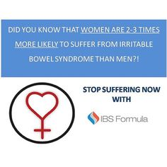 Attn: Ladies, stop being a statistic and try IBS Formula! 20% off for a limited time only at Ibsformula.com! #bowel #ibsproblems #ibs #naturalproducts #glutenfree #vegan #digestion #sale