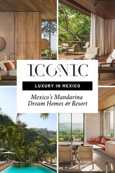 The Sustainably-Minded Luxury Development Is a Tour de Force, Defining What It Means to Live Beautifully on the Mexican Coast Hotel Mandarina-Style. Coast Hotels, Living In Mexico, Puerto Vallarta, Art Of Living, One And Only, Luxury Travel, Luxury Lifestyle, Life Is Good, Swimming Pools
