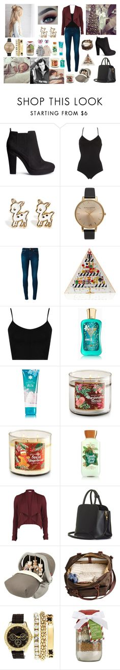 """Family outing first race for Christmas"" by louisericoul ❤ liked on Polyvore featuring H&M, Calvin Klein Underwear, Topshop, MICHAEL Michael Kors, Yankee Candle, Queen Bee, VILA, BEGA, Graco and GET LOST"