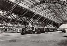 #retweet #postcard Postcard LEIPZIG Railway Station Hauptbahnhof Station Platform (1920) #44 http://stores.ebay.co.uk/stampsvintage