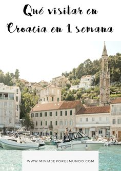 Qué ver en Croacia en 7 días - 1 semana en Croacia #itinerarios #europa #viajar Travel Guides, Travel Tips, Travel Around The World, Around The Worlds, Future Travel, Dubrovnik, Eastern Europe, Travel Destinations, Beautiful Places