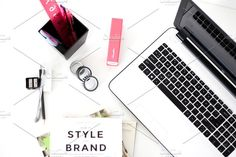 Office Desk With Tools by ForCreativepreneurs Stock on @creativemarket