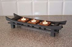 A candle stand from Japan