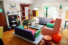 arredamento-anni-60-salotto-colorato