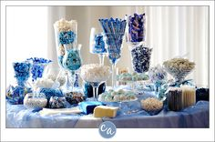 Blue Candy Buffet » Corey Ann Photography