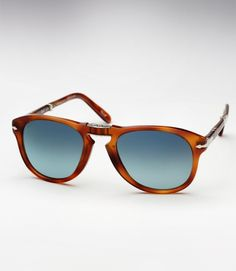 e2cc13b5fba1 Persol 714SM - Honey Tortoise w  Blue Gradient Polarized Steve Mcqueen  Sunglasses