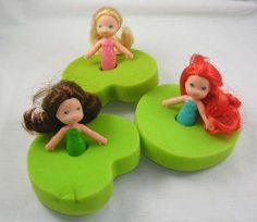 Sea Wees bath toys I remember my sister playing with these! My Childhood Memories, Childhood Toys, Sweet Memories, Nostalgia, Ed Vedder, Barbie, 80s Kids, Children Toys, I Remember When