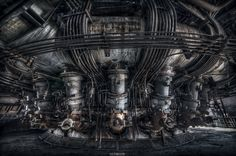 #Industrial #Abandoned #Engine #Forge