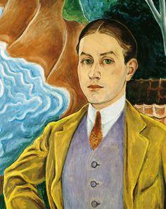 Rolf de Maré porträtterad av Nils Dardel.