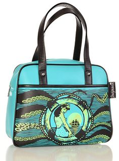 New Arrivals - Siren s Lure Tentacled Bowler Purse by Sourpuss Clothing  Handbags 957ee4d483625