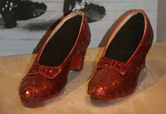 Dorothy's Ruby Slippers Wizard of Oz 1938, by dbking, flickr.com