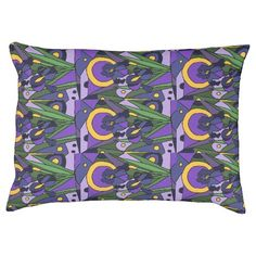 Blue Iris Floral Abstract Art Dog Bed #irises #flowers #dogbeds #abstract #art And www.zazzle.com/inspirationrocks*