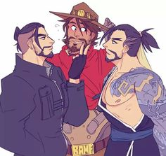 Overwatch Hanzo, Overwatch Comic, Overwatch Memes, Overwatch Fan Art, Game Character, Character Design, Hanzo Shimada, Cartoon Games, Gay Art