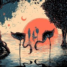 """""""twinflames"""" Photo taken by @james.r.eads.art on Instagram"""