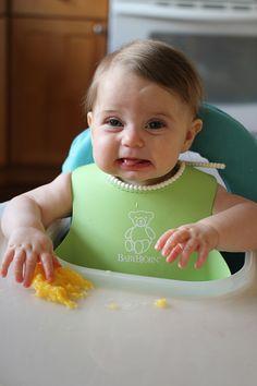 baby-led weaning mango