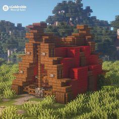 Minecraft Castle, Minecraft Medieval, Cute Minecraft Houses, Minecraft Houses Blueprints, Minecraft Plans, Minecraft House Designs, Amazing Minecraft, Minecraft Tutorial, Minecraft Creations