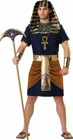 Rule alongside Cleopatra in tihs men's Egyptian pharaoh costume! Our mens Egyptian costumes and adult pharaoh costumes will give you the historical look you want. Mens Egyptian Costume, Pharaoh Costume, King Costume, Costume Dress, Sexy Halloween Costumes, Adult Costumes, Costumes For Women, Adult Halloween, Anime Outfits