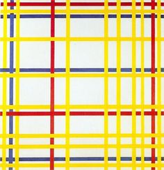 Piet Mondrian, the intersecting lines create a dialogue between the colours and…