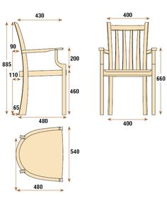 Brown Oak Dining Chairs - The Woodworkers Institute Oak Dining Chairs, Dining Table In Kitchen, Living Room Chairs, Wood Chair Design, Furniture Design, Small Chair For Bedroom, Kitchen Layout Plans, Small Swivel Chair, Small Accent Chairs