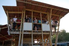 The Architectural Association Visiting School in Haiti intensive 11-day workshop had the objective to explore the use of bamboo as a construction material in Haiti.