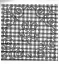 Beading Patterns, Crochet Patterns, Filet Crochet Charts, Crochet Dollies, Crochet Tablecloth, 2 Colours, Doilies, Hand Embroidery, Diy And Crafts