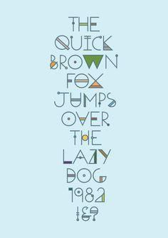 ODYSSEY typeface