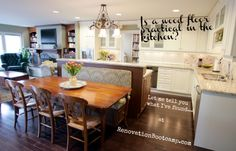 If you're thinking of a wood floor in your kitchen, there are a few things you should know. By @sieguzi RenovationBootcamp.com