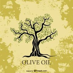 olive tree silhouette vector free - Google Search