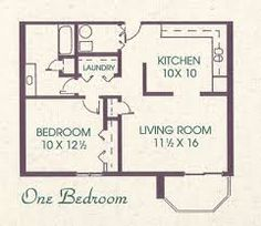 Get various Impressive House Plans Under 800 Sq Ft House For 800 Sq Ft Floor Plans design recommendations from Phyllis Alexandra to redesign your liv. The Plan, How To Plan, Tiny House Cabin, Tiny House Living, 400 Sq Ft House, Granny Pods, Apartment Floor Plans, Apartment Ideas, Apartment Living