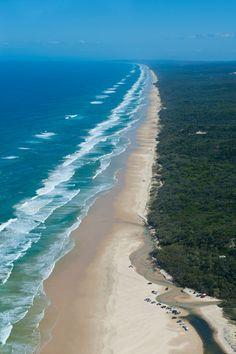 Playa de Fraser Island (Australia)