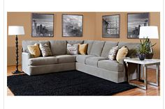 Gray couches