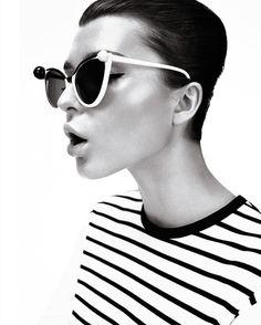 Zen Sevastyanova for Harper's Bazaar UK March 2013 by Catherine Servel