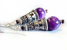 Zul Drak Earrings inspired by World of Warcraft  by VeritasCrafts, $12.00