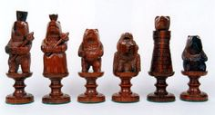 Hand Carved Wooden Chess Pieces Searching to find helpful hints about woodworking? http://www.woodesigner.net provides them!