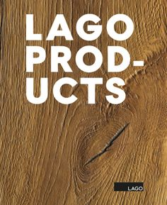 Catalogue LAGO Products 2017