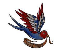live-free Tattoos, freedom Tattoos, america Tattoos, stars Tattoos, hero Tattoos, apache, bird Tattoos