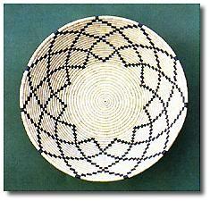 Alcuni oggetti di artigianato sardo - cestino