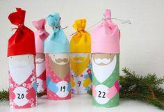 25 Festive + Easy Advent Calendars to Make Today via Brit + Co