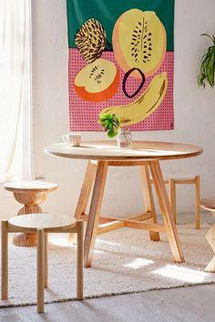 Slide View: 1: Alzana Dining Table