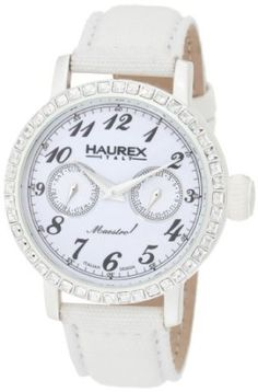 #Italian White Dial Crystal #Watch ~ #jewelry ~ $89.99